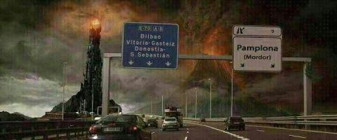 Pamplona es Mordor